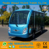 Zhongyi 11 Seater off Road Battery Powered Classic Shuttle Enclosed Electric City Sightseeing Bus with High Quality