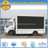 5 T Isuzu Outdoor LED Screen Advertising Vehicle 4X2 Mobile LED Truck