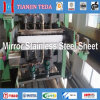 430 Mirror 8k Finish Stainless Steel Sheet