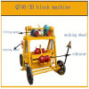 Qt40-3b Cement Curb Stone Block Making Machine