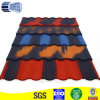 Stone coated tiles with double color