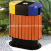 Newest Durable Wooden Dustbin Trash Cans for Sale (A-06501)