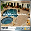 Yellow/Grey/Rusty Natural Stone/Slate Tile for Swimming Pool Coping/Pool Paving