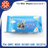Flushable Organic Baby Wet Wipes Natural Ingredients Wipes