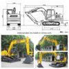 Widely Usage Crawler Excavators Bd 80 (7.5T/0.4 cbm) for Sale