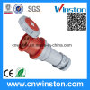 Industrial Waterproof Connector with CE, RoHS Approval