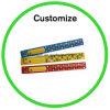 Custom Logo Reflective Silicone Wristband