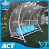 Highly Recommended European Design Portable Substitute Bench, Mobile Football Team Shelter