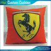 100% Polyester Print Ferrari Red Car Cushion (M-NF29F14006)