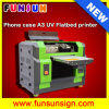 A3 UV Printing Machine for Belt/Cylicdrical Items/Acrylic/Desktop UV Printer with High Quality