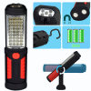 36+5LED Adjustable Magnetic Hanging Camping Outdoor Working Flashlight