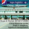 China to Myanmar Border Shew Li & Kyegaung, Logistics & Customs Declaration