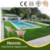 Artificial Landscaping Synthetic Turf for Outside Swimming Pool