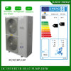 Split Condensor Indoor Work -25c Winter Floor House Heating 12kw/19kw/35kw Auto-Defrost Evi Air Source Heat Pump Efficiency Cop