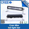 12 Inch LED Light Bar 48W Waterproof LED Car Lighting