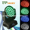 36PCS 10W RGBW 4in1 Wash LED Moving Head Zoom