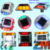 Visiblity >800m Solar-Powered Road Stud / LED Flashing Road Marker for Roadway Safey