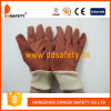 Ddsafety 2017 PVC Garden Gloves with White Knit Wrist