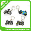 Custom 3D Motorcycle Soft PVC Rubber Key Chain Promotion (SLF-KC001)