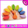 2015 New Peacock Design Wooden Block Toy, Rainbow Color 11PCS Wooden Blocks, Innovative Perception Beauty Wooden Block Toy W13e049