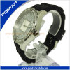 Unisex Stainless Steel Swiss Watch with Mop Dial