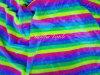 Printed Multi Color Polyester Fur