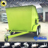 China Factory New Coming Mobile Bin Trailer