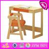 2015 Kids Writing Table and Chair, Kids Study Table Chair Set, School Wooden Table and Chair for Kids W08g157b