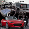 Android 6.0 GPS Navigation Box for Mazda Mx-5 Mzd Connect Video Interface Knob Control Waze