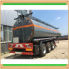 45000liters Carbon Steel Plastic Lining Bitumen Transportation Trailer