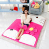 Two Models PP Cutton Hello Kitty Shaped Plush Bed for Sleeping
