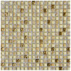 2018 New Design Crystal Glass Mosaic Flooring Tiles Price