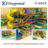 High Quality Indoor Playground Equipment with Plastic Slides