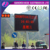 P10 Red Color Outdoor LED Moving Display