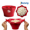 Microwave Silicone Popcorn Maker Magic Pop Silicone Popcorn Maker Bowls