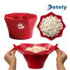 Microwave Silicone Popcorn Maker Magic Pop Silicone Popcorn Maker Bowls