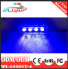 Police Emergency LED Warning Grill Lighthead Blue 4W