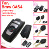 Auto Remote Key Shell for BMW CAS4 F Chassis 7 Series with 4 Buttons Silver Edge