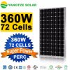 25 Years Warranty Highest Efficiency 360W Mono Photovoltaic PV Solar Panel