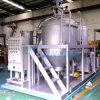 Eco Waste Tyre Oil Recycling Machine Change Color