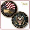 Custom Souvenir Metal Soft Enamel Challenge Coin