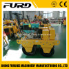 Water Cooled Diesel Engine Walk Behind Tandem Drum Vibratory Roller for Sale