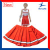 Healong Hot Digitally Printed Wholesale Cheerleading Uniforms with Skirt