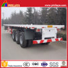 Transport 40ft Container Platform Semi Truck Trailer for Sale