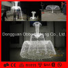 White Color Classic European Decorations Motif Fountain Light