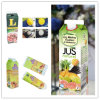 Carton Box for 1 L Gable Top Fresh Juice/Milk/Cream/Wine/Water with Caps