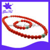 Fashion Tourmaline Jewelry Necklaces&Bracelets Set 2015 Gus-Tmn-057
