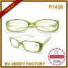 R1408 New Model Optical Stripe Frame Plastic Reading Glasses