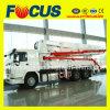37m 39m Self-Drive Concrete Boom Pump, Concrete Pump Truck