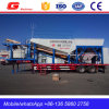 Mobile Concrete Mixing Plant with Patent on Sale (YHZS50)